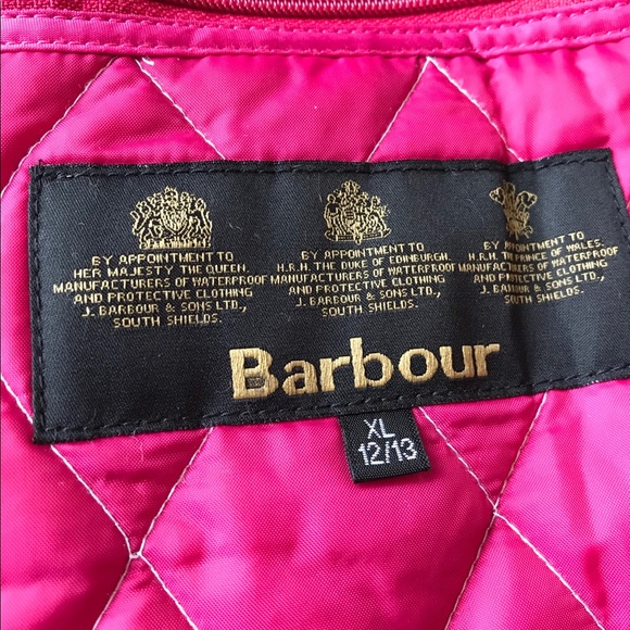 Barbour Jackets & Coats   Barbour Girls Quilted Jacket ...